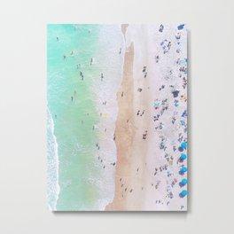 aerial beach III Metal Print