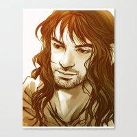 kili Canvas Prints featuring Kili by lorna-ka