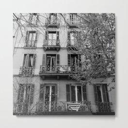 Barcelona Architecture III Metal Print