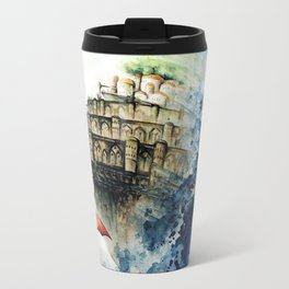 """""""The castle in the sky"""" Travel Mug"""