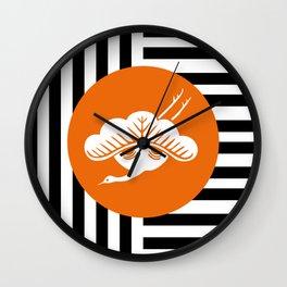 Tsuru Matsu - Lucky signs serie Wall Clock
