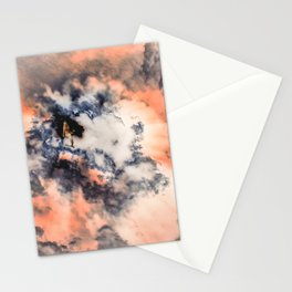 This Mermaid Has Her Head in The Clouds Stationery Cards