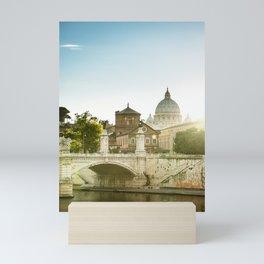 rome skyline Mini Art Print