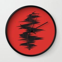 DIE FRAKTUR Wall Clock