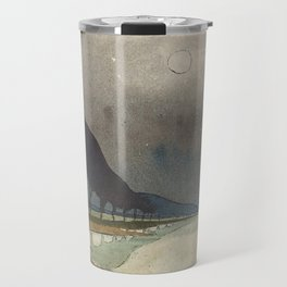 Charles Guilloux - L'allée d'Eau - Surreal Dreamscape Travel Mug