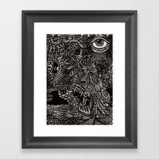 55 Framed Art Print