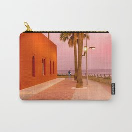 Super Moon At Sunset Carry-All Pouch