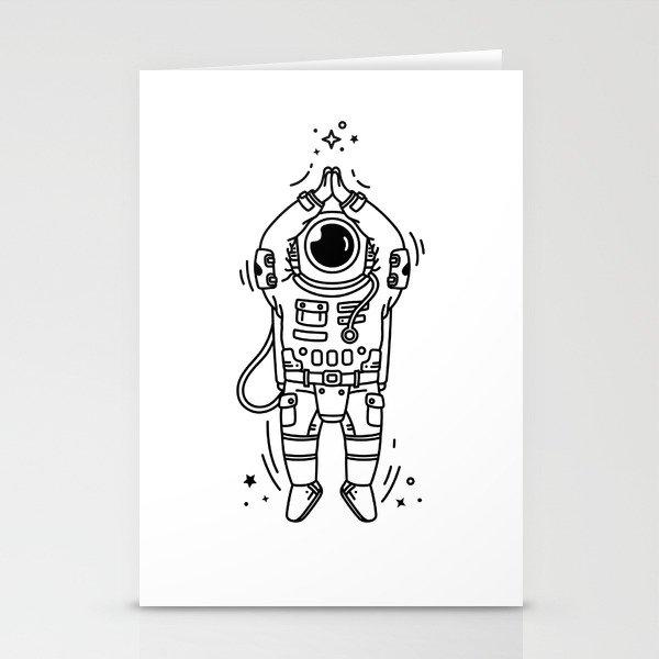 Cosmic Stranger 2 Stationery Cards