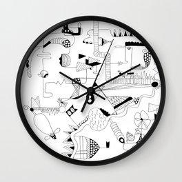 Tri State Area Wall Clock