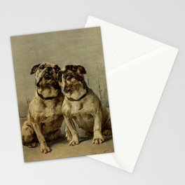 Earl,Maud   (1864-1943) -The Power of the Dog Bulldog Stationery Cards