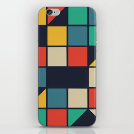 Color music box iPhone Skin
