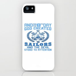 SAILORS iPhone Case