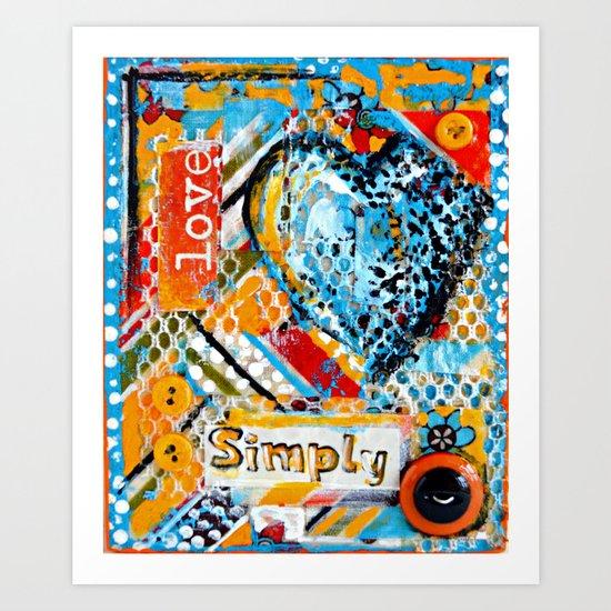 Love, Simply... Art Print