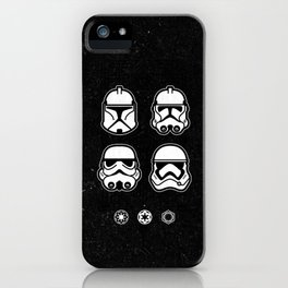 Troopers iPhone Case
