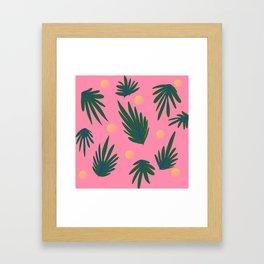 Leaf design Framed Art Print