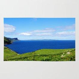 Antrim Coast. Ireland Rug