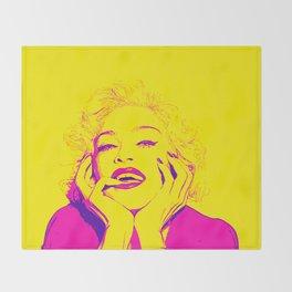 Bright Madonna Throw Blanket