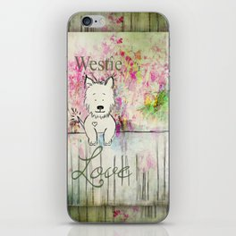 Westie Love ~ West Highland Terrier iPhone Skin