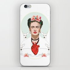 Frida Kahlo (Light) iPhone & iPod Skin