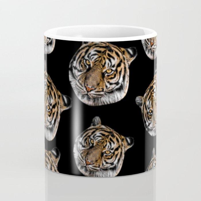 wild safari jungle animal tiger head Coffee Mug