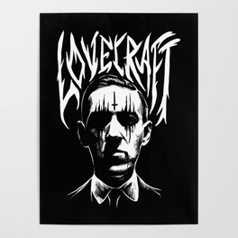 lovecraft metal band creator of cthulhu Poster
