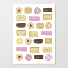 A TASTE OF CHILDHOOD: BISCUITS Canvas Print
