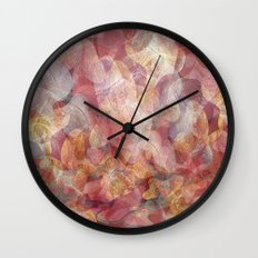 Lines and shapes artwork Wall Clock