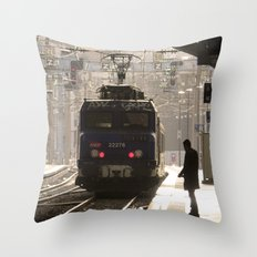 Nice Departure Throw Pillow