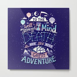 Great Adventure Metal Print