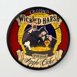 Wicked Cider (1) Wall Clock