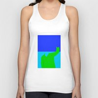 wave Tank Tops featuring Wave by jt7art&design