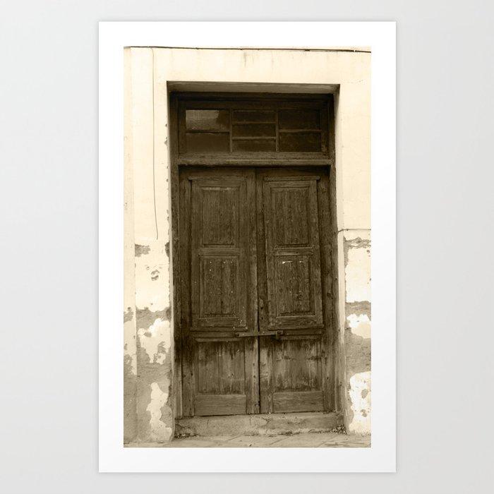 The Crooked Door Art Print & The Crooked Door Art Print by artbycleopatra | Society6