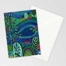 Bird by the Pond Stationery Cards