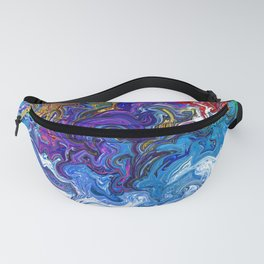 Color cascade Fanny Pack