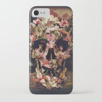 ali iPhone & iPod Cases featuring Jungle Skull by Ali GULEC