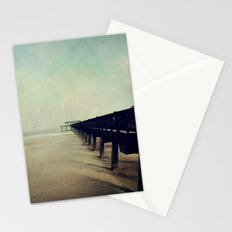 Seashore Pier Stationery Cards