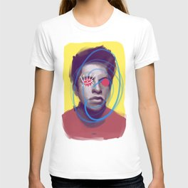 Sunny Tcloudraw, POP art style, digitally painted T-shirt