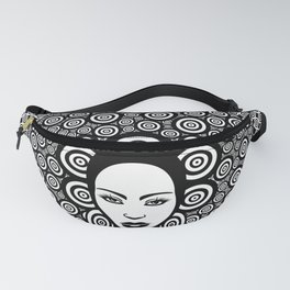 Sixties woman black and white Fanny Pack