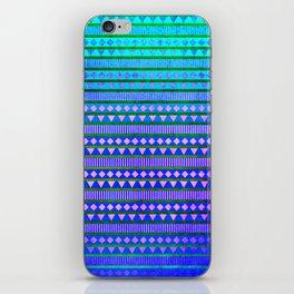 Aztec Night iPhone Skin