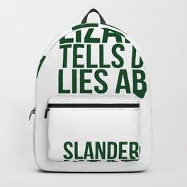 Slandermander A Lizard That Tells Damaging Lies About You Backpack