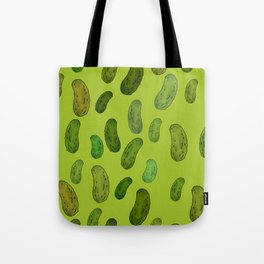 Pickle Pattern Tote Bag