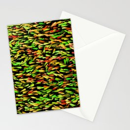 Colorful School of Fish Stationery Cards