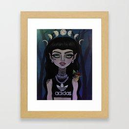 F E M M E  FATALE Framed Art Print