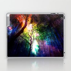 rainbow rain Laptop & iPad Skin