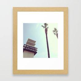 Union Station - Los Angeles Framed Art Print