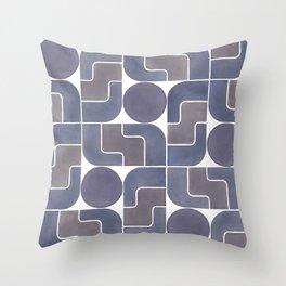 MONTE ALBÁN MOD (ECLIPSE), pattern by Frank-Joseph Throw Pillow