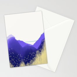 Pollen Count Stationery Cards