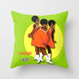 The Marvelettes Subway Soul Throw Pillow