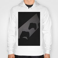 xbox Hoodies featuring Xbox One Controller Silhouette by HarasiElite