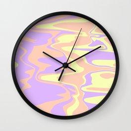 Marble Paradise Wall Clock